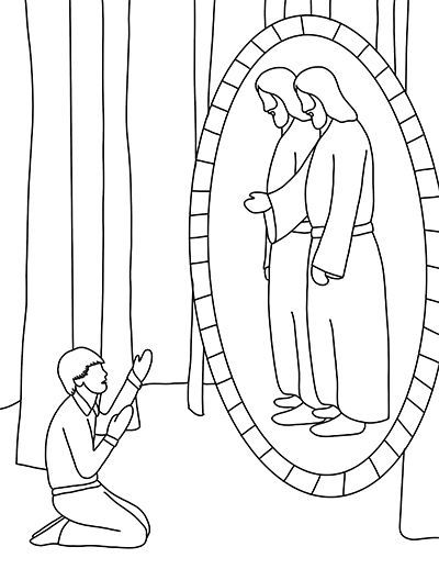 Primary lesson helps. November: Week 3. Coloring Page