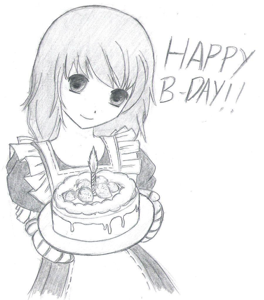 Открытки, крутые рисунки карандашом на день рождения