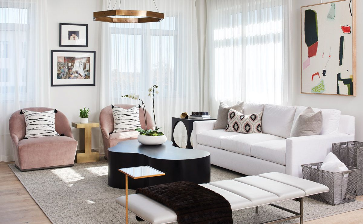 The Trick To Mixing Modern And Traditional Furniture Room Design
