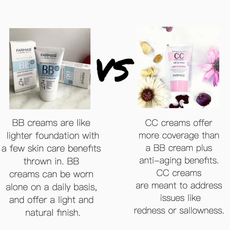 Farmasi Bb And Cc Creams Bb Cream Cc Cream Light Foundation