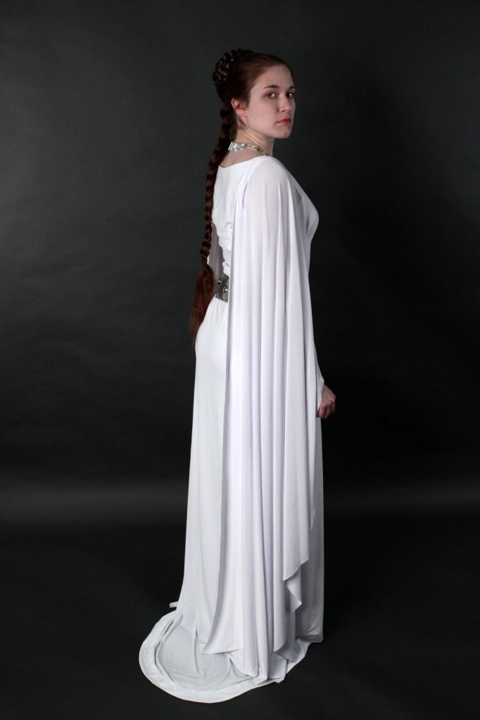 Princess Leia ceremonial gownPrincess Leia Ceremonial Gown ...