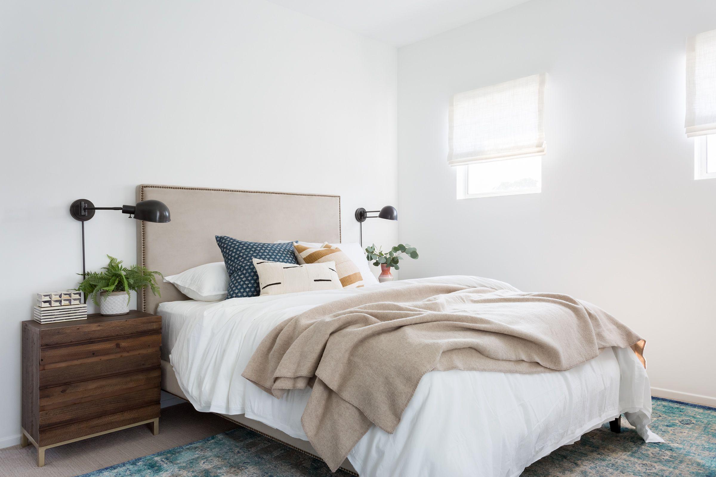 Guest Bedroom Navy Street Best neutral paint colors