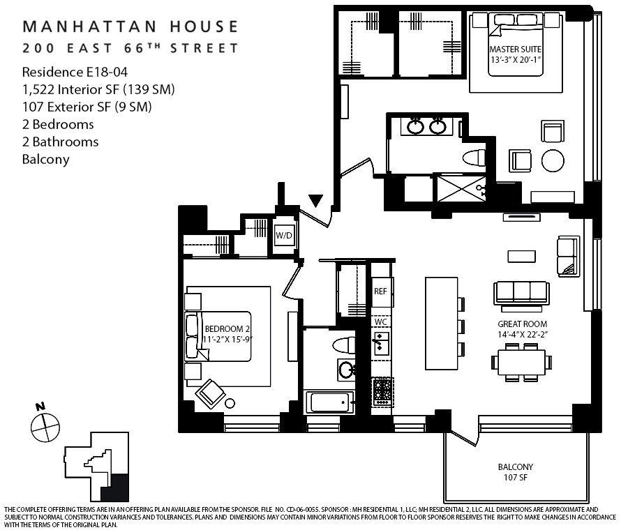 Manhattan Condo Staycation Cubao Home: Corcoran, Manhattan House, 200 East 66th Street, Upper