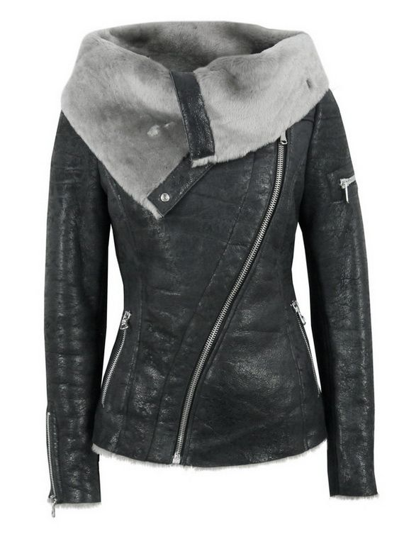 Fall / Winter Leather Jackets for Women almost makes me sad I live in a warm