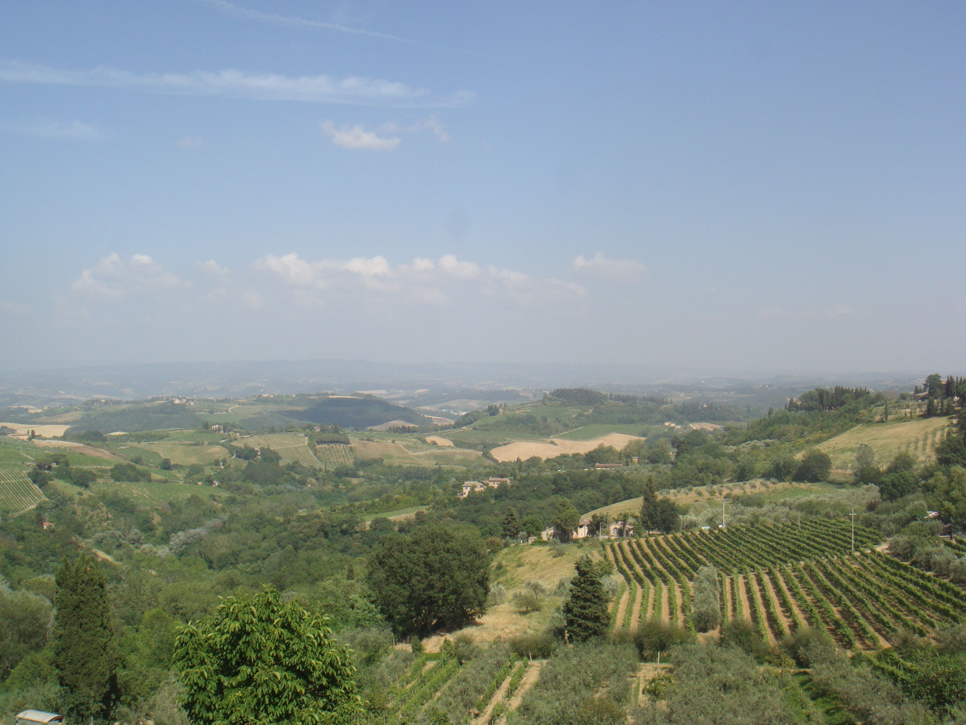 Tuscany, Italy great for wine tasting ^_^