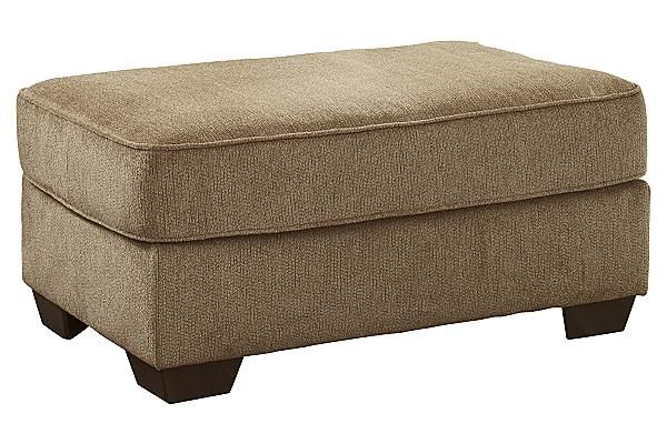The Galand - Umber Ottoman from Ashley Furniture HomeStore (AFHS