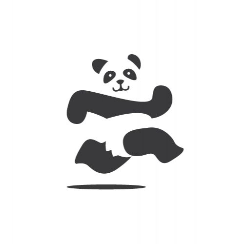 Panda Run Logo Design | Logo Design | Pinterest | Logos