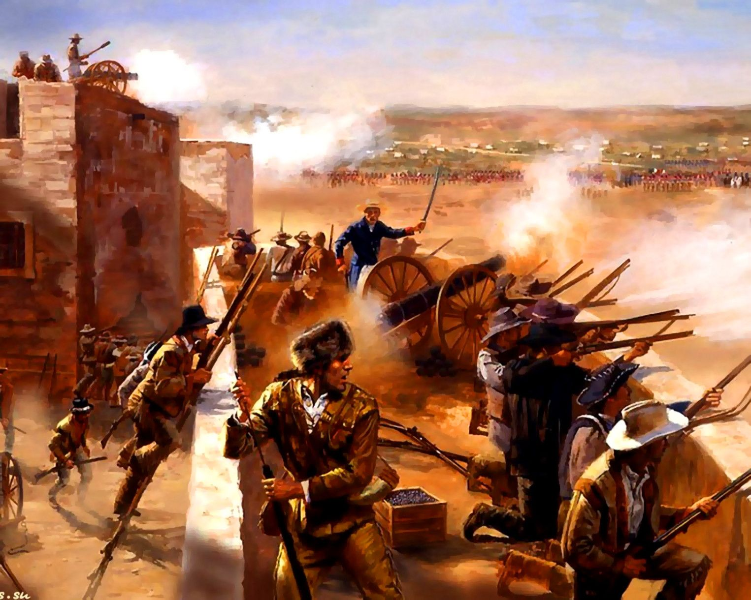 The Battle Of The Alamo February 23 March 6 1836 Was