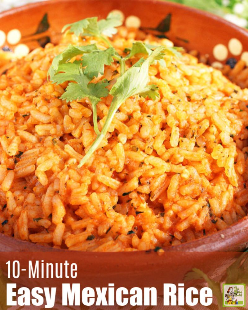 Easy Mexican Rice Recipe In 2020 Mexican Rice Recipes Mexican Rice Easy Easy Mexican