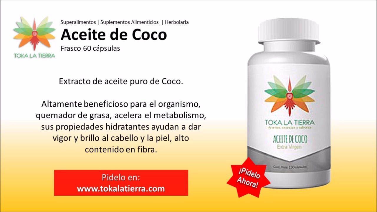 Aceite De Coco Comprar Aceite De Coco Capsulas Suplementos Con