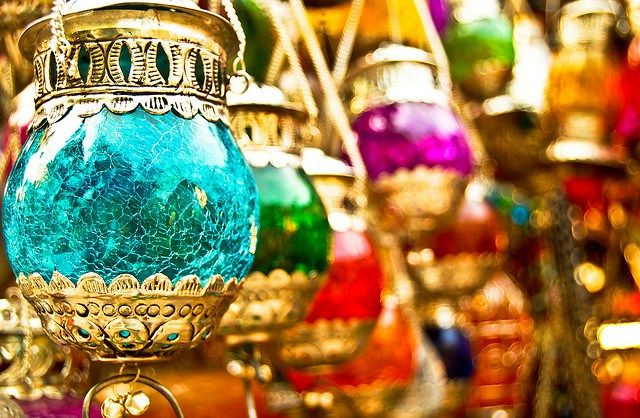 MOROCCAN LANTERNS...color inspiration for my DIY jars I'm using ;)