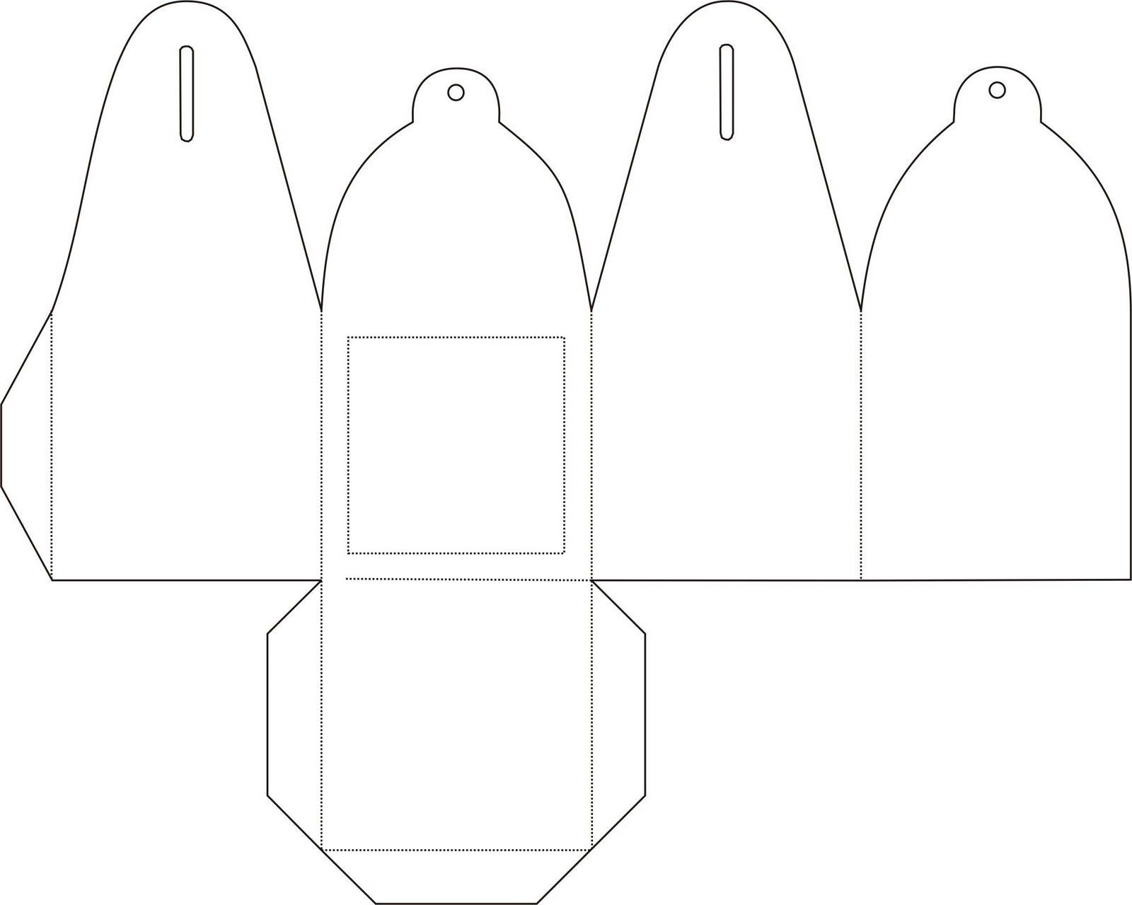 Moldes De Caixinhas Para Imprimir 4 Caixas Caixa De