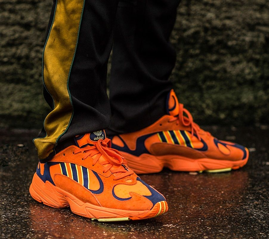 adidas yung 1 orange homme