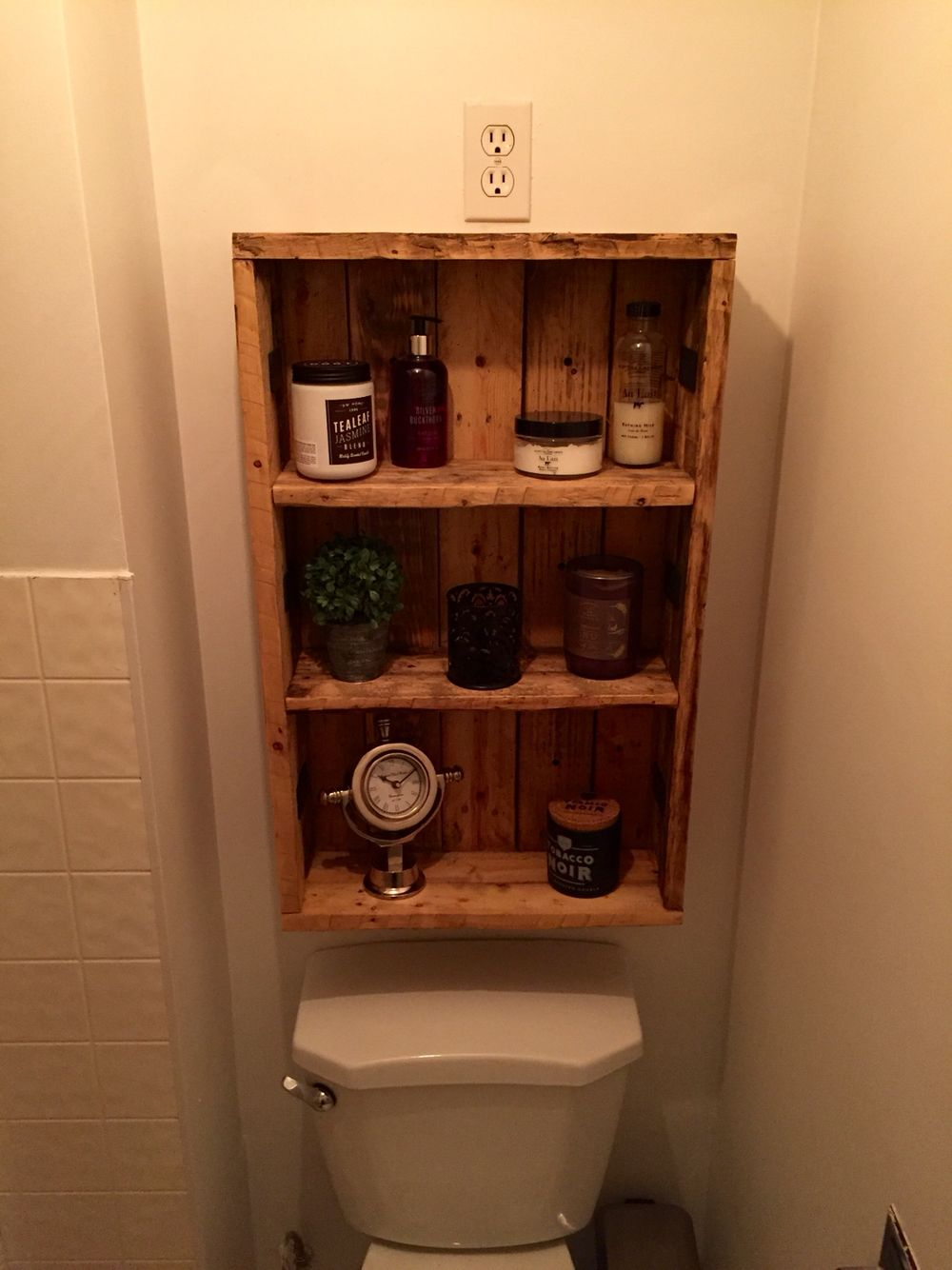 Rustic Medicine Cabinet Repurposed Pallet Wood