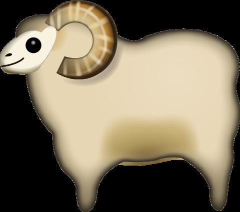 Sheep Emoji Emoji, Emoji images, Emoji faces