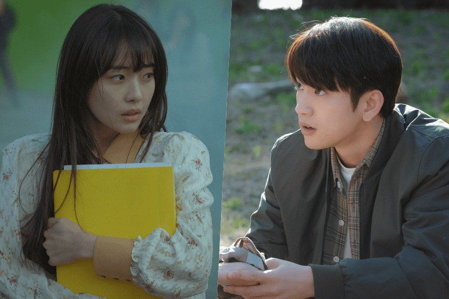 """Jeon So Nee And GOT7's Jinyoung Have A Dangerous And Fateful First Meeting In """"When My Love Blooms"""""""