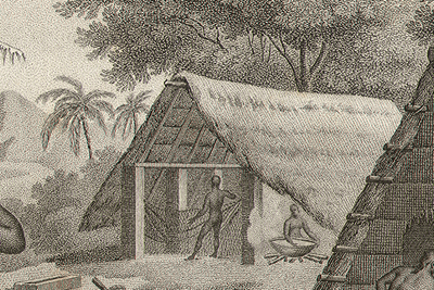 ... Guam Public Library's Rare Illustrations entitled Chamorro Customs