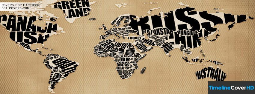 World Map33 Facebook Timeline Cover Hd Covers
