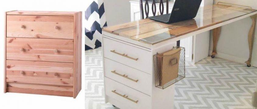 Cassettiera Per Scrivania Ikea.Mobili Ikea 11 Idee Per Utilizzarli In Modo Alternativo Mobili