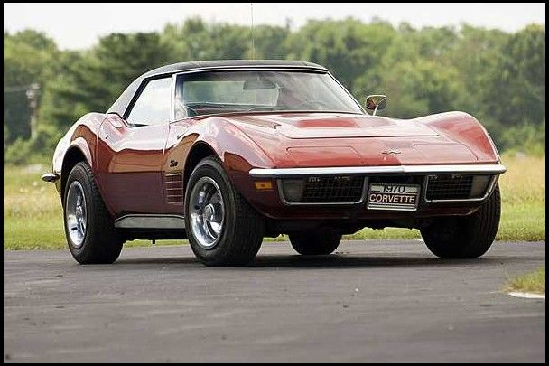 1970 Chevrolet Corvette Lt1 Mecum Auctions Chevrolet Corvette Old Corvette Corvette