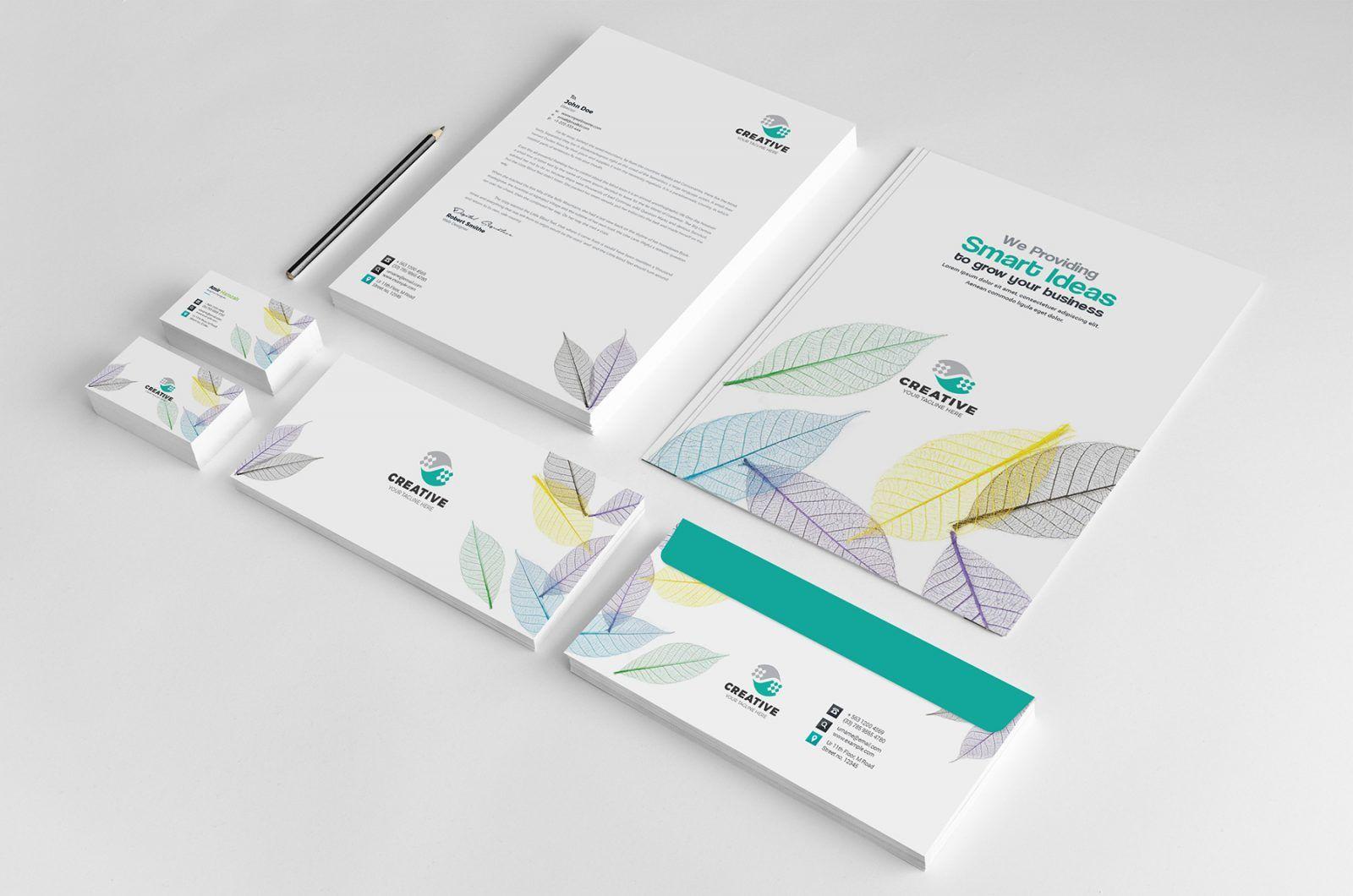 Modern Corporate Identity Pack Design Template 002112 Corporate