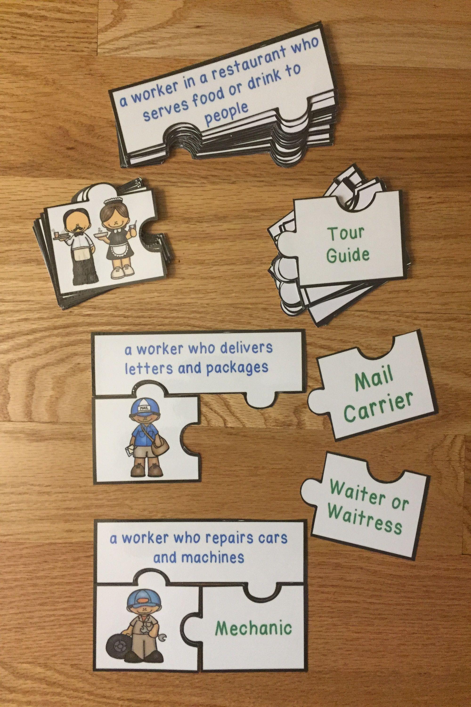 Career Exploration Elementary Jobs In The Community Helper
