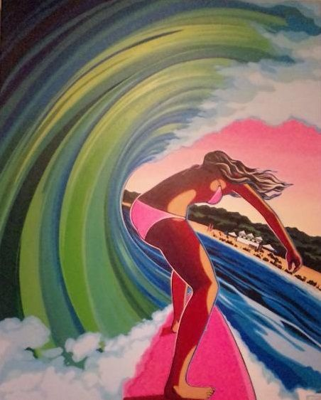 Sweet Surf Art Would Love This On My Next Custom