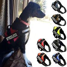 Reflective Service Dog Harness Vest...
