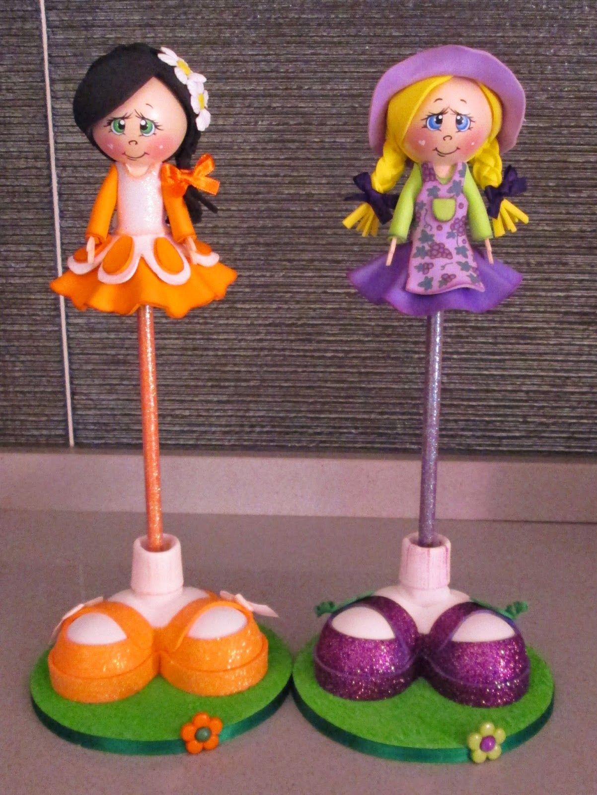 Muñecas Tania: trabajo personalizado