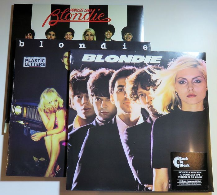 Online Veilinghuis Catawiki Blondie Their First 3 Albums On 3x