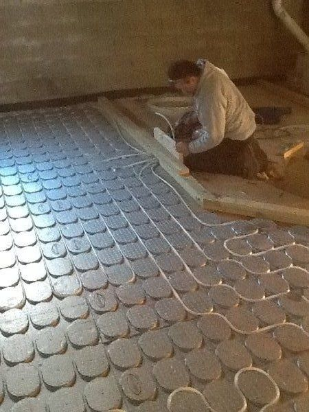 Pin By Radiant Green Flooring On Radiant Heat Information Heating Air Conditioning Underfloor Heating Radiant Heat