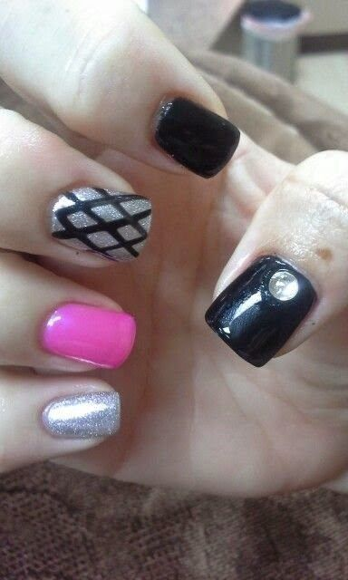 Gel Nail Designs For Summer 2014 Nailpolish Nails