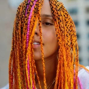 100 Totally Chic Box Braids Hairstyles #longboxbraids