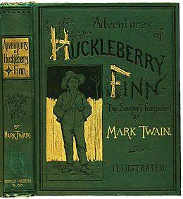 L - Huckleberry Finn book.JPG