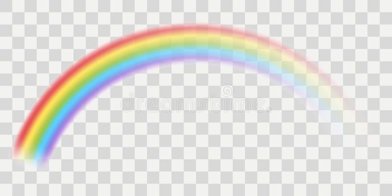 Vector Rainbow With Transparent Effect Sponsored Rainbow