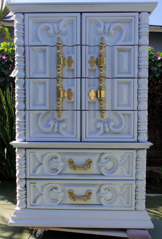 Ornate Dresser Makeover