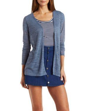 Ribbed Cardigan Sweater #CharlotteLook #cardigan