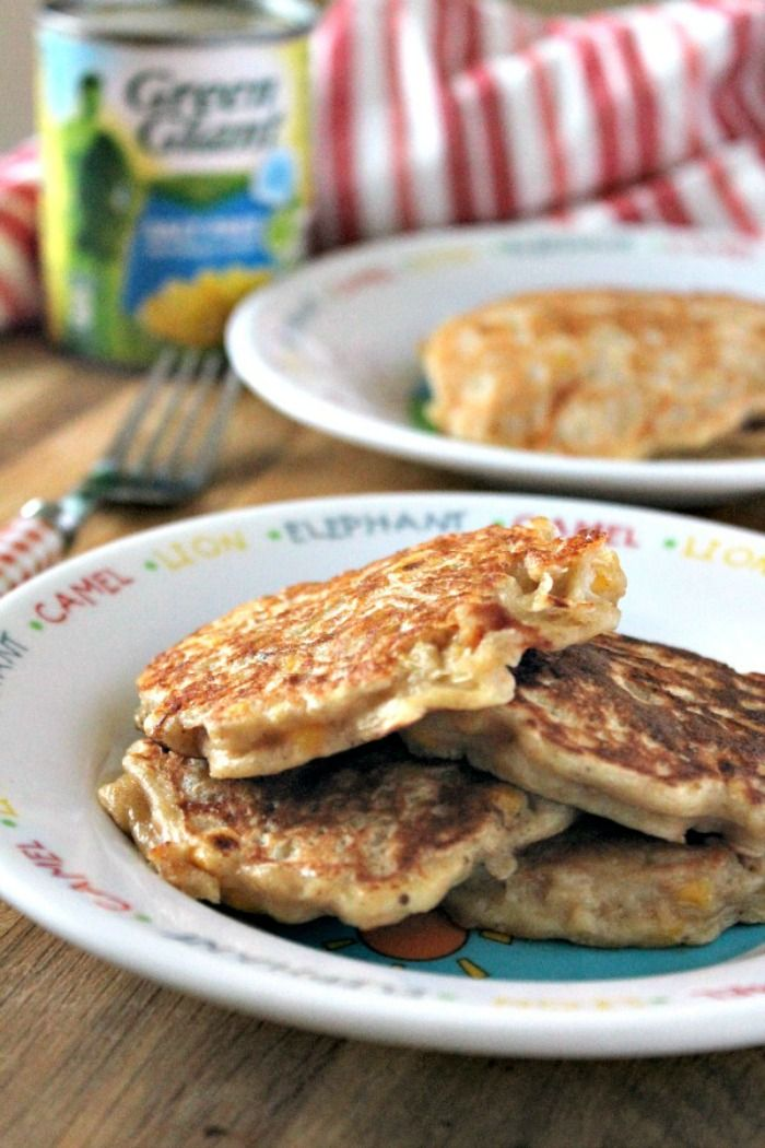 Baby Led Weaning: Sweetcorn and Cheddar Fritters #sweetcornideas