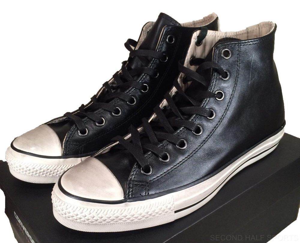 Converse John Varvatos Burnished Leather Hi All Star Chuck