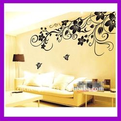 2012 living room decorative wall stickers
