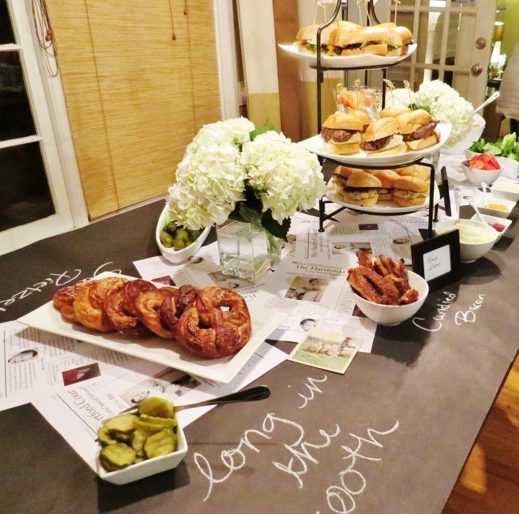 D coration anniversaire adulte id es sur le buffet et le th me anniversaires d corations et - Idee deco buffet ...