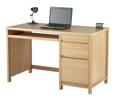 Alphason Hunter Oak Home Office Desk Aw7510a Kantor