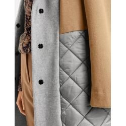 Photo of Coat with patch material gray Gerry Weber