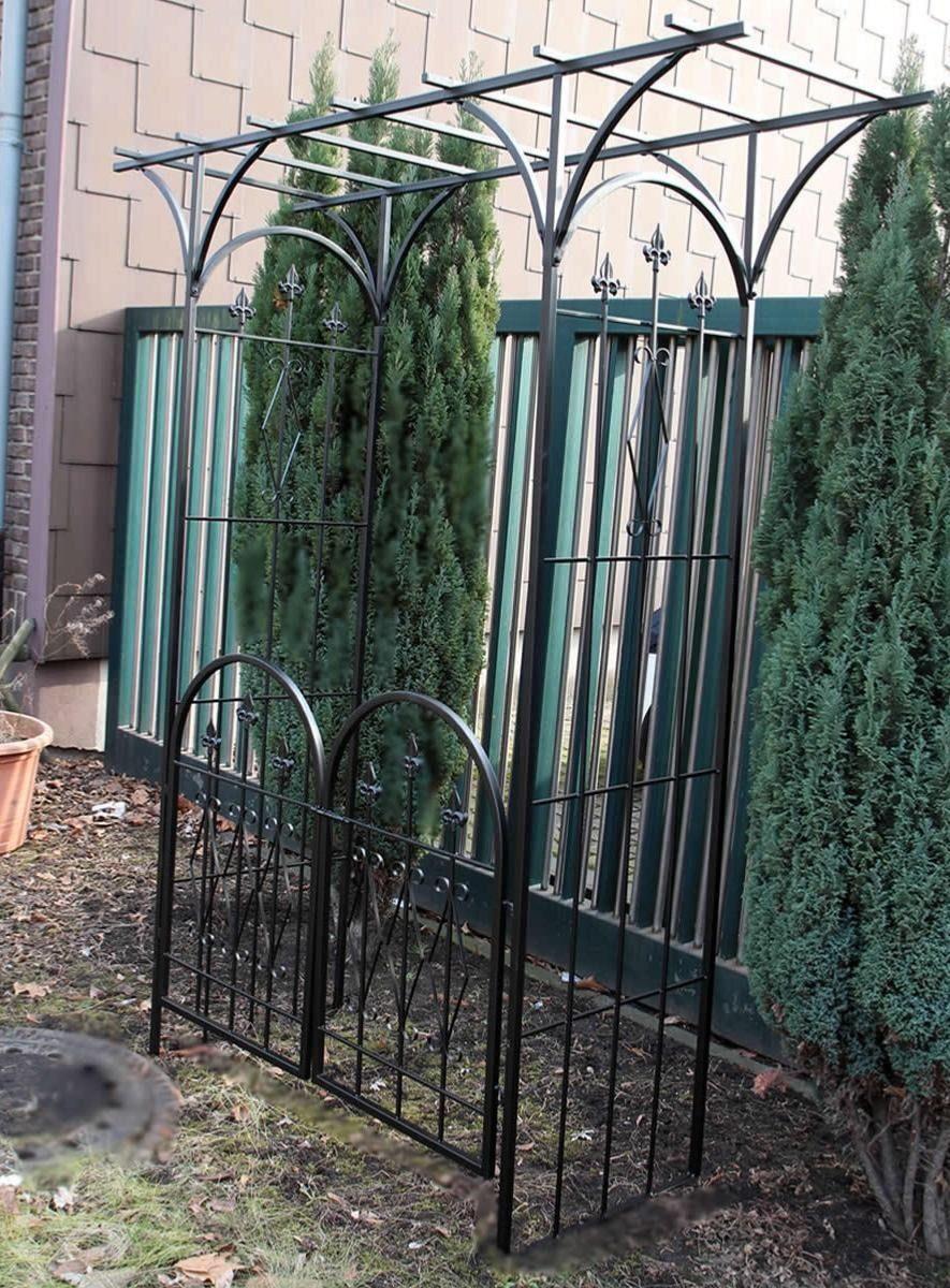 Arche Jardin Moderne Avec Portillon Cielterre Commerce Arche Jardin Jardin Moderne Jardins