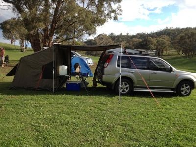 C&ing outdoors & The Oztent RV-3 In Action http://www.amazonoutdoors.com.au/blog/n ...