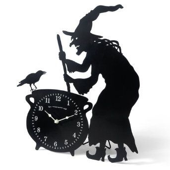 witch with clock - Bing Images
