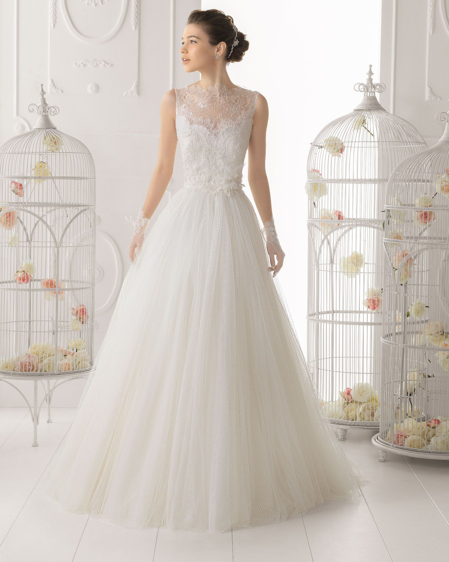 Aire Barcelona wedding dress 2014 Bridal Ocarina | wedding ideas ...