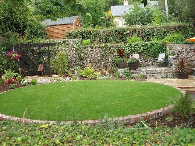 lawns with lynch garden design - Garden Design Circular Lawns