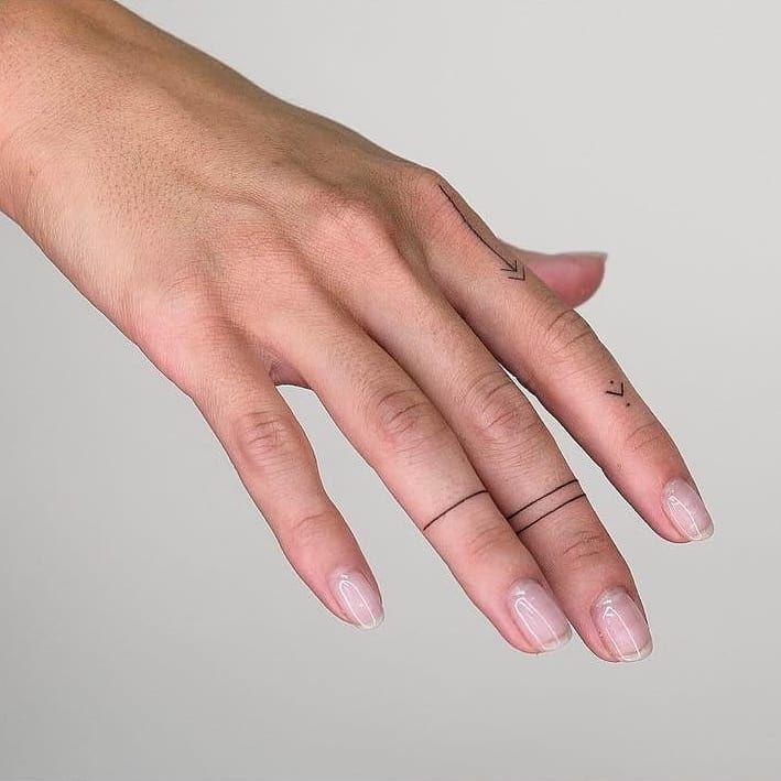 "Photo of Stick and Poke Tattoo®'s Instagram photo: ""#Repost @razovskih ・・・ Петербург!  Запись на сентябрь открыта 💖 #stickandpoke #handpoke #tattoo #linetattoo #handpoked"""