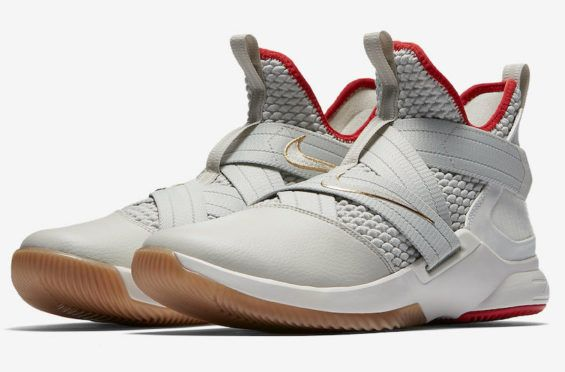 75d7eb7346c Nike LeBron Soldier 12 Grey White Coming Soon Another colorway of the Nike  LeBron Soldier 12